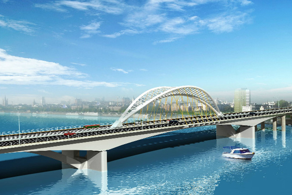 Zhangzhou jiulong river bridge