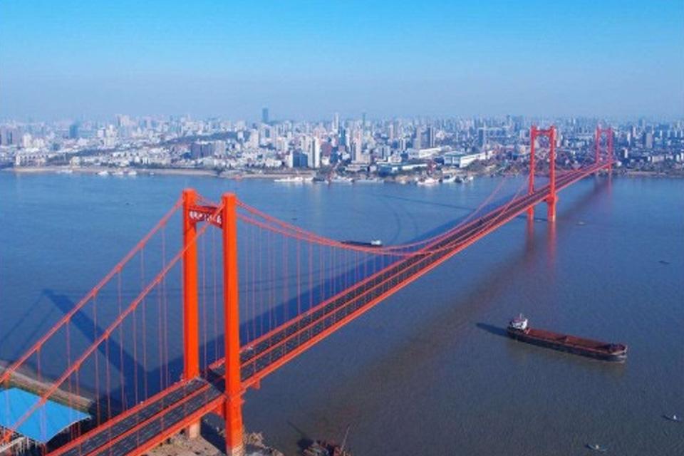 武汉鹦鹉洲大桥